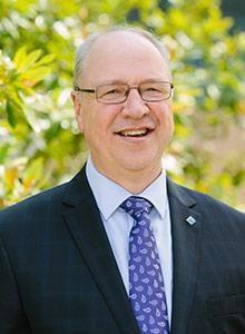Victoria University Vice-Chancellor Professor Peter Dawkins